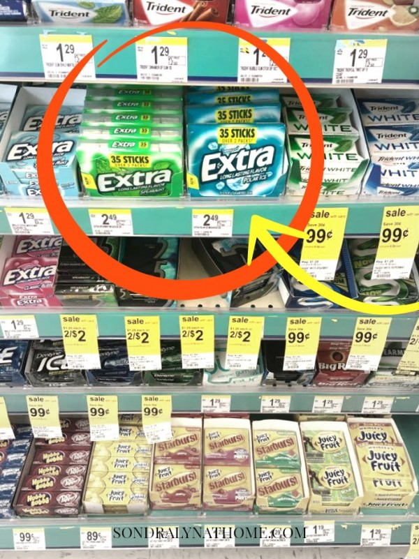 Extra Gum - SONDRALYNATHOME.COM