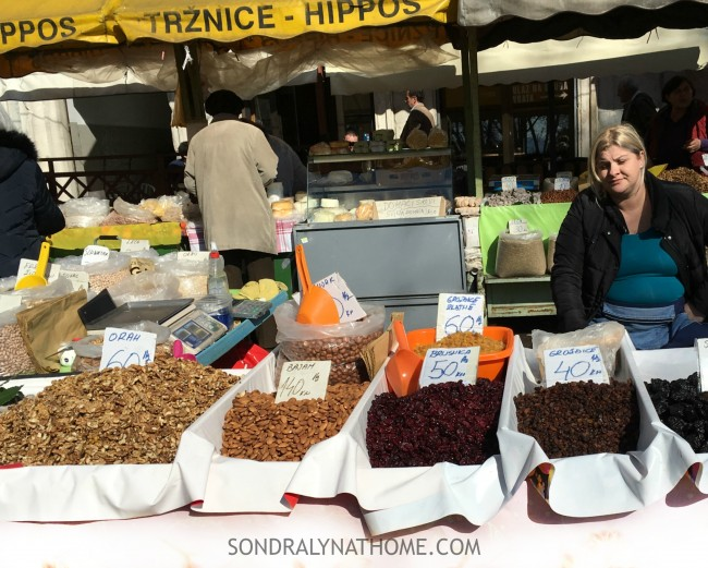 Eating My Way Through Europe - Diocletian's Palace-Open Air Market-Split,Croatia-SondraLynatHome.com