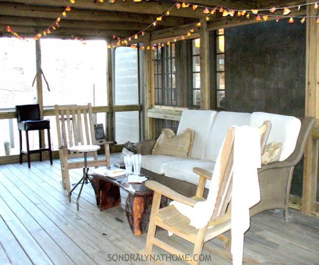 Lake House Breezeway - Sondra Lyn at Home.com