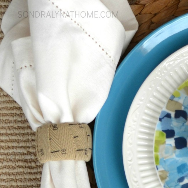 Back-to-School Place Setting - Napkin Rings- Sondra Lyn at Home.com