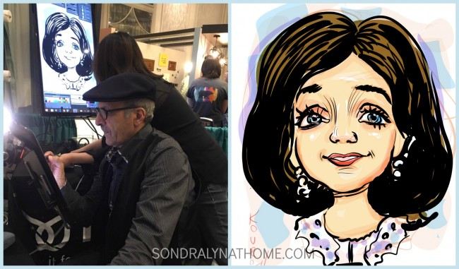 Caricature Collage fom Haven Blog Conference 2016 - Sondra Lyn at Home.com