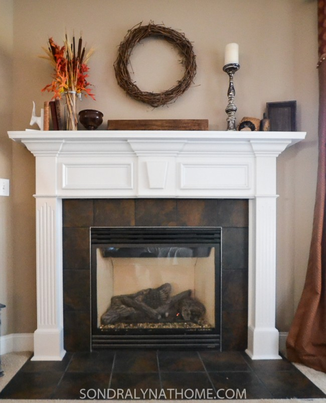 Easy Peel and Stick Stone Fireplace Surround Sondra Lyn at Home