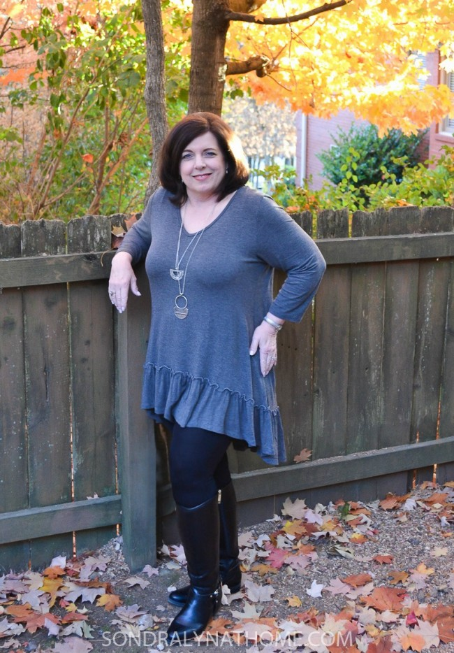 fashion-friday-with-gray-tunic-and-necklace-sondra-lyn-at-home-com1