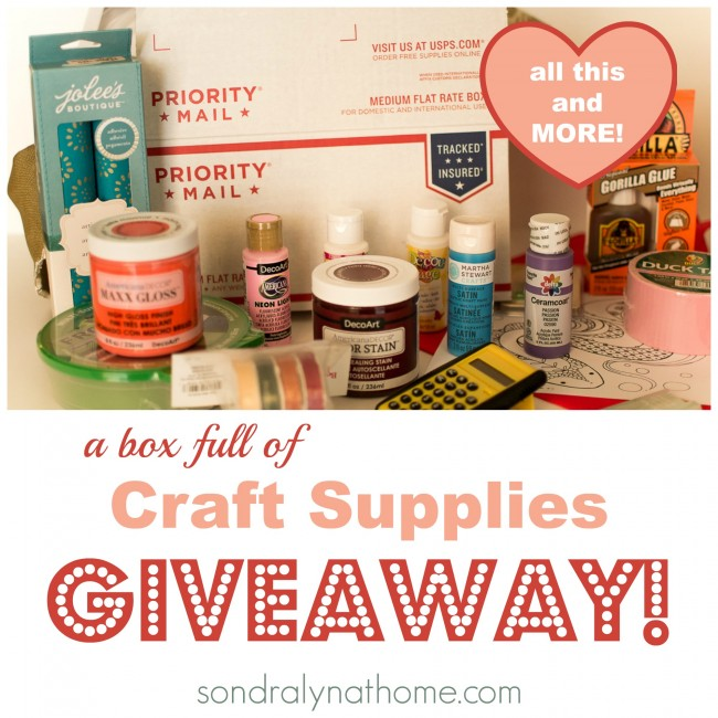 Home Decor Giveaway holiday gift guide home decor hostess gifts Spring Craft Box Giveaway February Sondra Lyn At