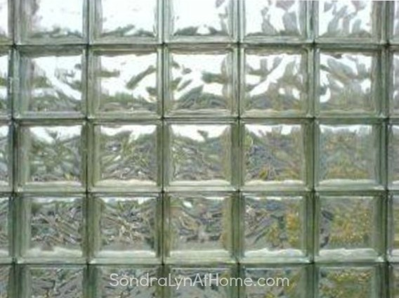 Glass Block Windows - Sondra Lyn at Home.com