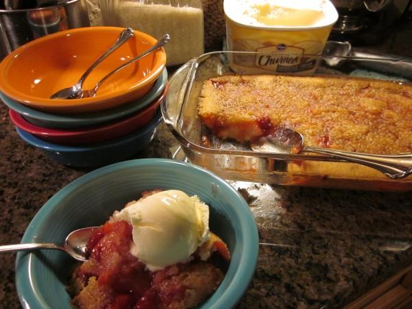 Cherry Cobbler… the perfect July dessert!