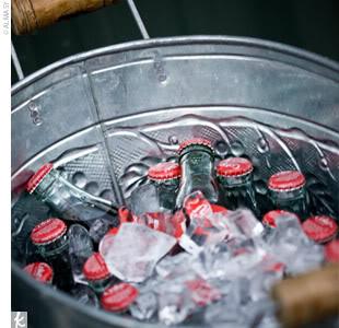 Drinks in Bucket