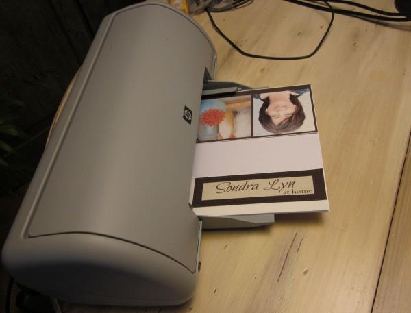 Printing iron ons