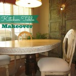 My Kitchen Table Redo