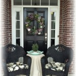 Wicker Chairs DIY Redo