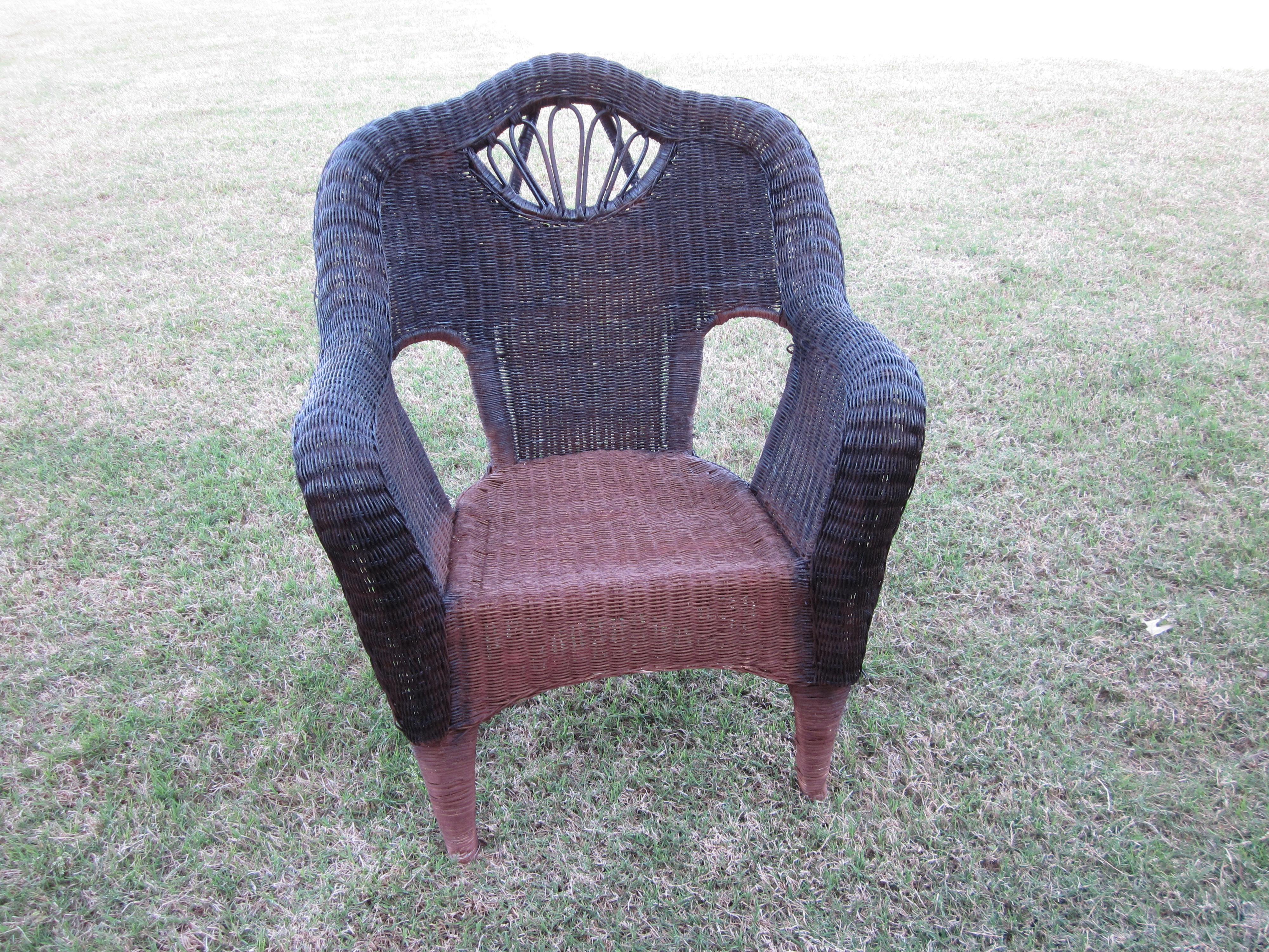 Wicker Chair Redo Sondra Lyn At Home