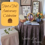 Host a Fall Anniversary Celebration