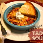 Three-Bean Taco Soup