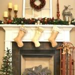 Create a Nostalgic Christmas Mantel