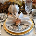Rustic Glam Fall Tablescape
