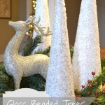 Glass Beaded Trees- Frontgate Hack!