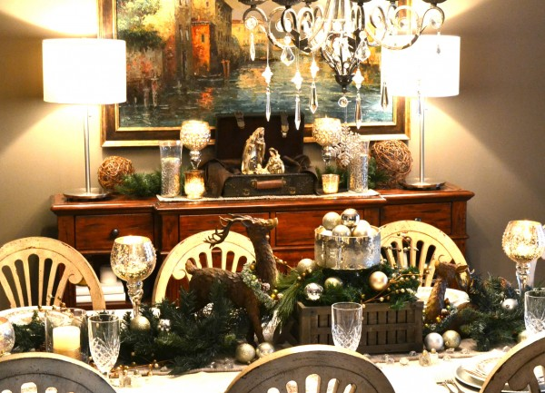 Christmas Home Tour 2013-Dining Room-Sondra Lyn at Home