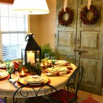 Red Bird Tablescape-Sondra Lyn at Home.com