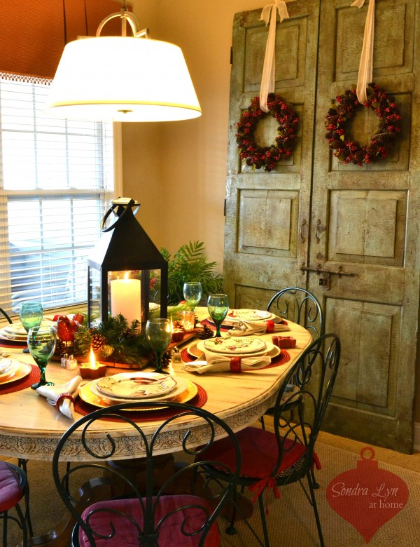 Red Bird Tablescape1-Sondra Lyn at Home