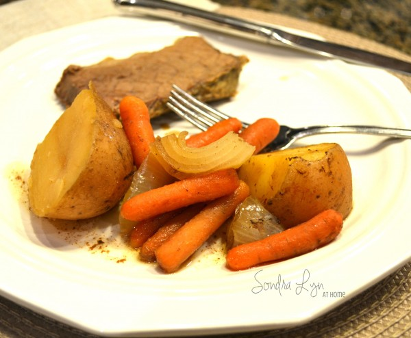 Beef Roast with Potatoes and Carrots - Sondra Lyn at Home