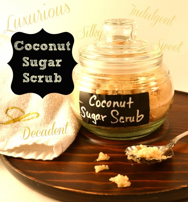 Coconut Sugar Scrub- Luxurious- Sondra Lyn at Home