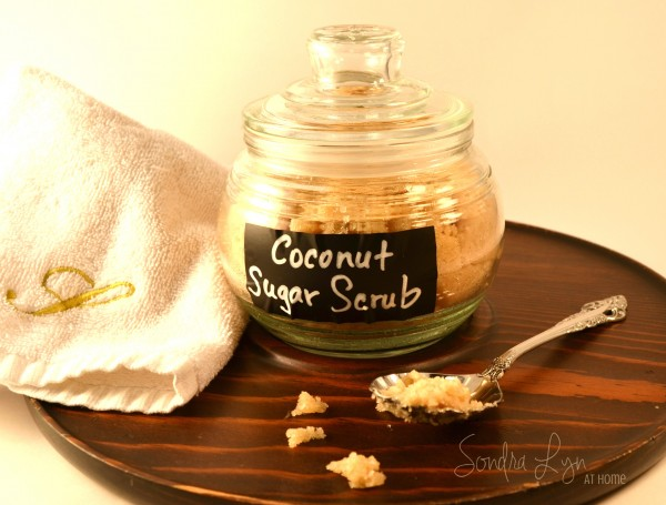Coconut Sugar Scrub- Sondra Lyn at Home