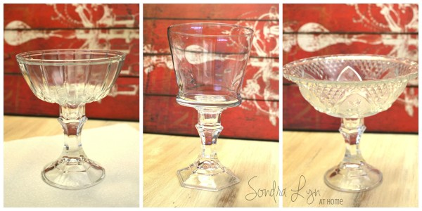 Dollar Store Candy Dishes collage- Sondra Lyn at Home