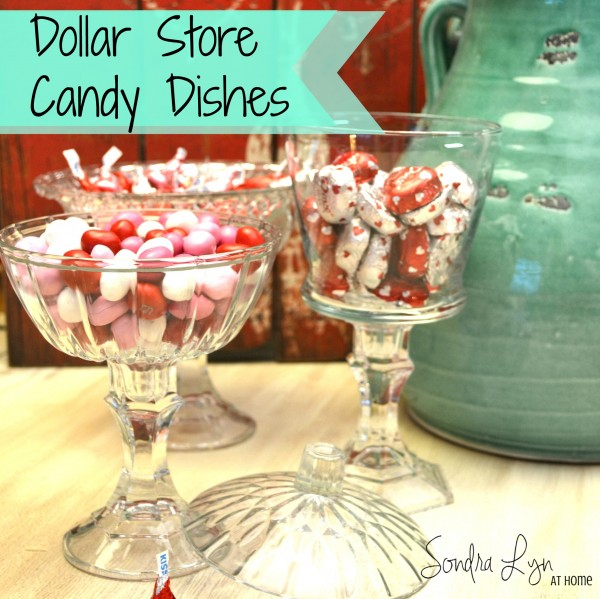 Dollar Store Candy Dishes