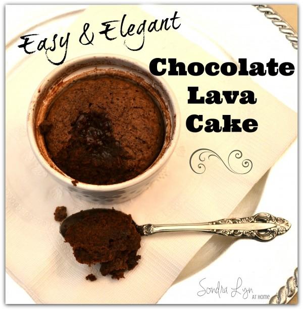 Chocolate Lava Cake- Sondra Lyn at Home