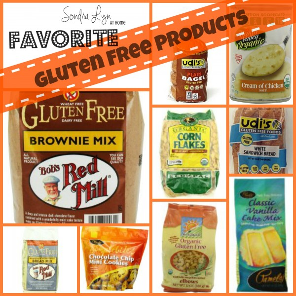 Gluten Free Fave Products