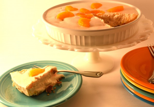 Mandarin Orange Pie