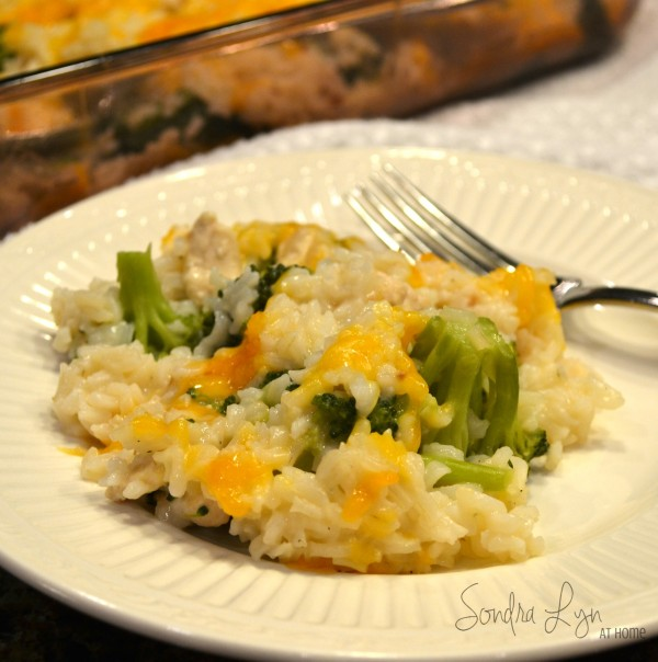 Easy Chicken-Broccoli Divan-Sondra Lyn at Home