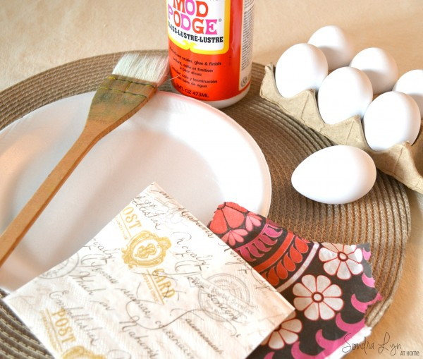 French Script Eggs - Sondra Lyn at Home.com