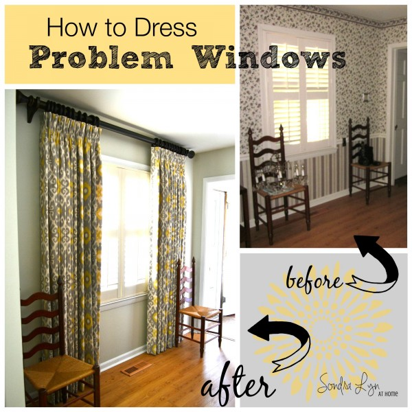 How To Dress Problem Windows Sondra Lyn At Home