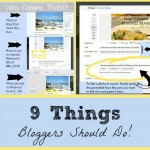 Updated Post: 9 Things Every Blogger Should Do