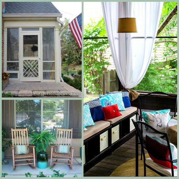 Collage-Porches