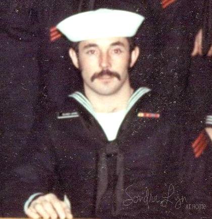 Hubs in Navy- Sondra Lyn at Home