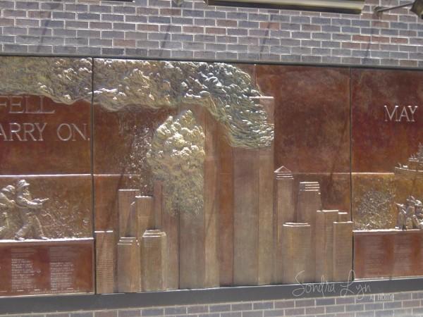 NYFD Ground Zero Monument- Sondra Lyn at Home