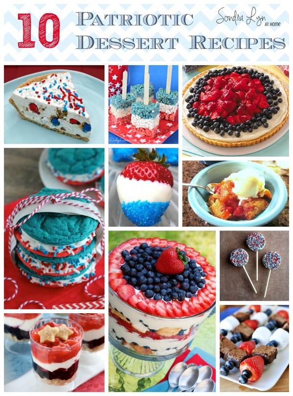10 Patriotic Dessert Recipes