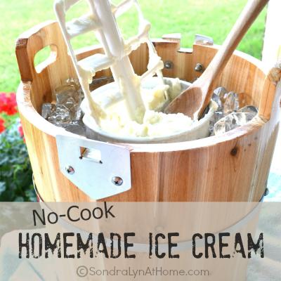 No-Cook Homemade Ice Cream