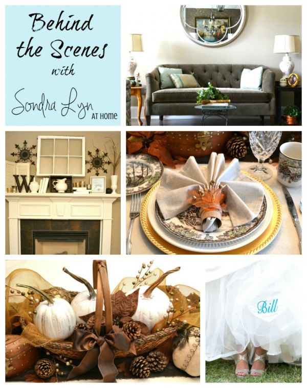 Behind the scenes with Sondra Lyn at Home