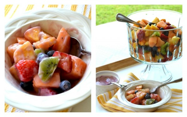 Fruit Salad-- Sondra Lyn at Home