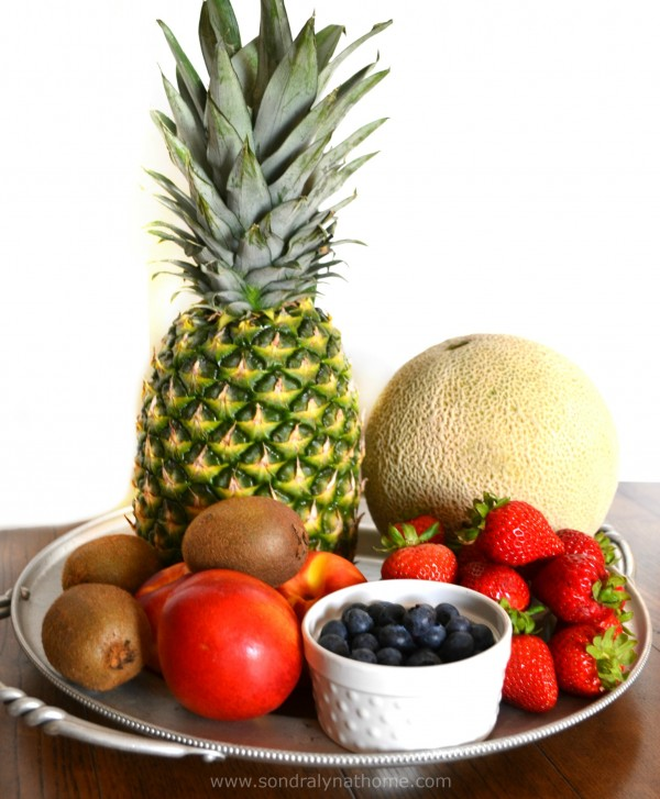 Fruit Salad- Sondra Lyn at Home