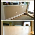 How to Apply Beadboard Wallpaper
