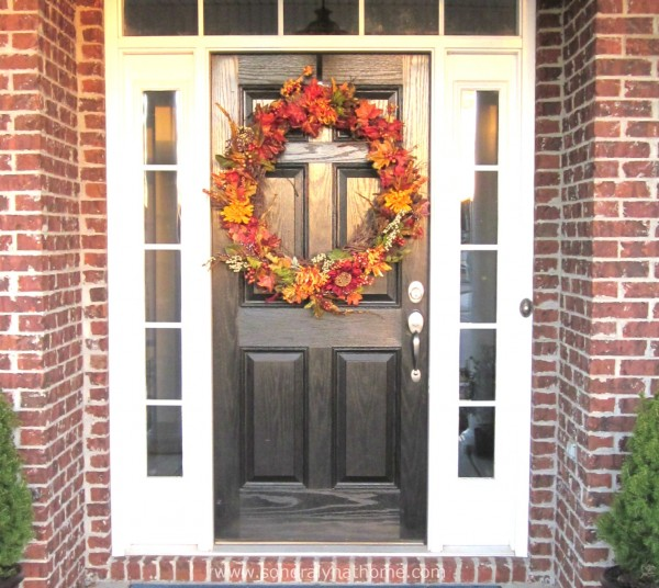 Front Door Before- Sondra Lyn at Home