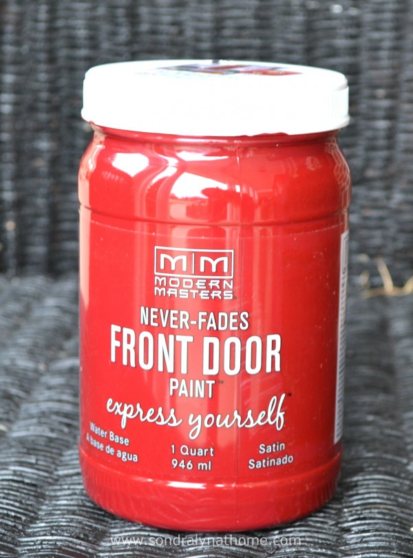 Front Door Facelift- Paint- SondraLynatHome