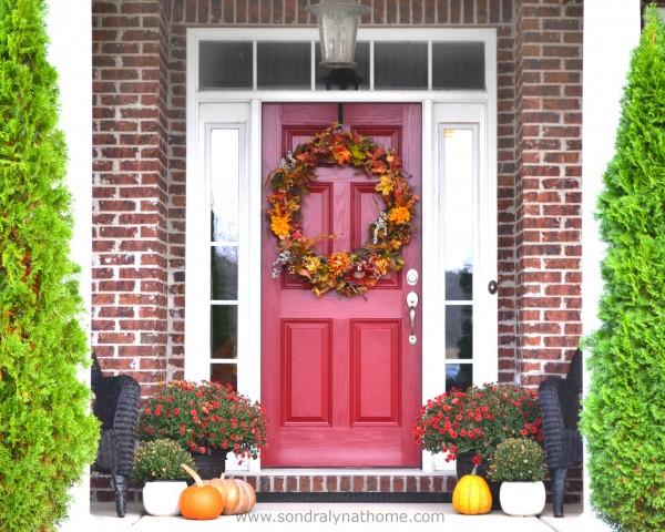 Front Door Facelift-- Sondra Lyn at Home