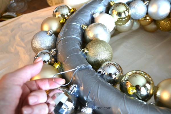 Christmas Ball Wreath- Sondra Lyn atHome