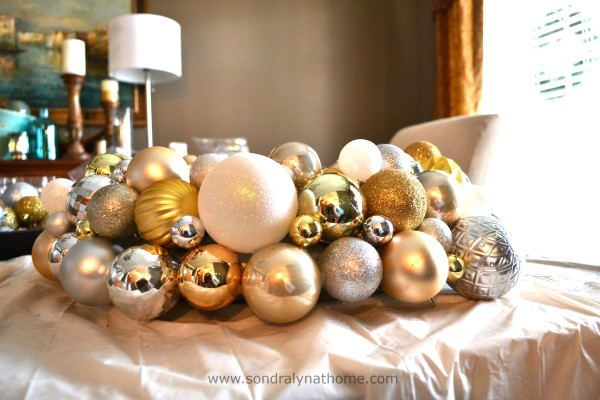 Christmas Ball Wreath -- SondraLynatHome