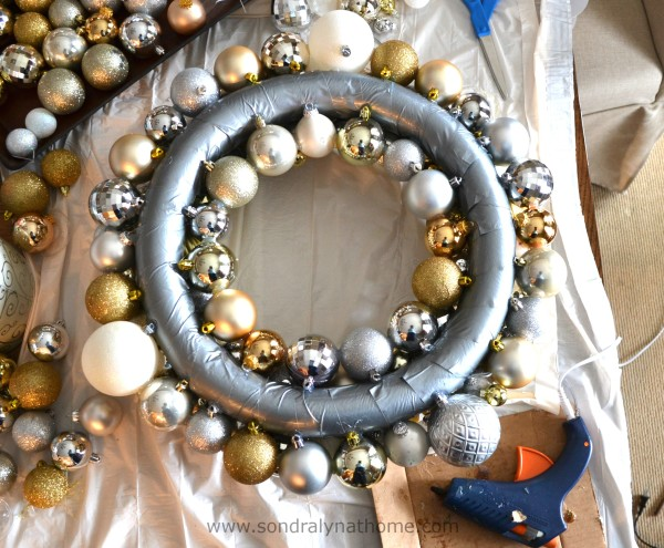 Christmas Ball Wreath- SondraLynatHome